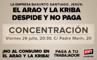 [CNT Logroño] LA KRIBA DESPIDE Y NO PAGA.
