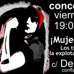 [CNT-Zaragoza] Concentración 8 de marzo, día de la mujer trabajadora