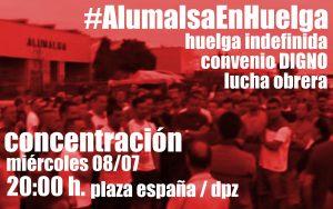 concentracion huelga alumalsa cnt 8-7-15