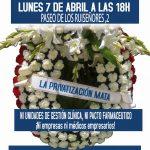 [CNT-Zaragoza] Concentración Frente al Colegio de Médicos. Lunes 7 de abril, 18 horas.