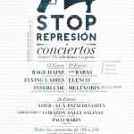 """[CNT Logroño] Conciertos """"Stop Represión"""", Solidaridad Detenidos 14N"""