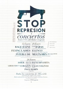 [CNT Logroño] Jornada solidaria con los detenidos del 14N