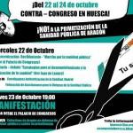 [Huesca] La CNT de Aragón y La Rioja apoya el contracongreso contra la privatización de la Sanidad Pública