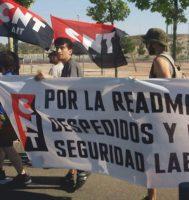 [CNT-Dock39] Crónica de la manifestación del 10 de junio por Puerto Venecia contra los despidos en Dock39