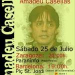 Concentración en solidaridad con Amadeu Casellas el 25 de Julio · Amadeu Casellas Libertad!!
