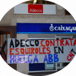 [Logroño] Acto solidario por huelga de ABB en Córdoba