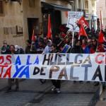 [CNT-Logroño] 11 M: crónica de la manifestación