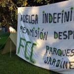 [Zaragoza] Fin de la Huelga en FCC Parques y Jardines