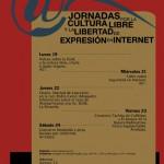 Jornadas por la libertad de expresión y la cultura libre en Internet en Zaragoza