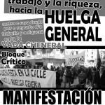 [CNT-Teruel] 26-S: Manifestación contra su deuda, por el reparto del trabajo y la riqueza, hacia la huelga general
