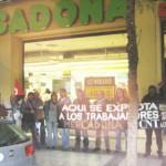 [CNT-Zaragoza] Jueves 23-M. Crónica de la concentración contra Mercadona