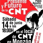 """[Monzón] Charla """"Pasado, presente y futuro de la CNT"""""""