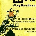 [CNT Logroño] Concentración NO A LA LEY MORDAZA