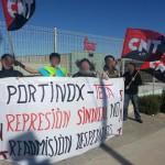 [CNT-Zaragoza] Concentración contra PORTINOX-Teka