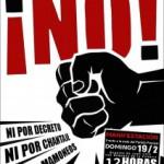 CNT Logroño acudirá críticamente a la manifestación contra la reforma laboral de este domingo 19