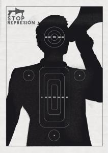 represion megafono