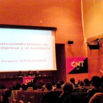 """Se ha celebrado con éxito el Seminario """"Sindicalismo en la empresa y el territorio"""" en Zaragoza"""