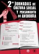 [Teruel] II Jornadas de Cultura Social y Pensamiento de Andorra. Programa