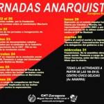 Jornadas Anarquistas en octubre.