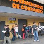[CNT-Zaragoza] Otro acto de solidaridad con los compañeros de Mercadona en huelga