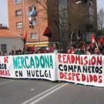 1 de Abril: Compañeros de CNT-Aragón estuvimos en la manifestación contra la nueva Reforma Laboral