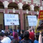 Manifestación antitaurina en Zaragoza