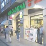 [CNT-ZGZ] Una más de miles de concentraciones informativas en apoyo a l@s huelguistas de Mercadona