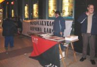 Crónica del último acto de la campaña contra la reforma laboral