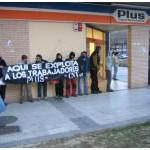 [CNT-Zaragoza] Concentración en apoyo a Fátima, despedida por ser madre.