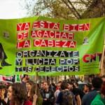 La CNT acuerda ir a la huelga general en el otoño de 2012 en convocatorias unitarias con el sindicalismo combativo y opuesto al pacto social